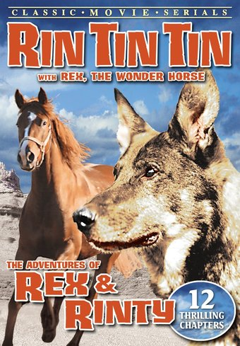 "Rin Tin Tin - Adventures of Rex And Rinty - 11"" x"