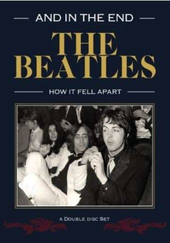 the beatles in the end how it fell apart 2 dvd 2015 directed by jon storey the collector. Black Bedroom Furniture Sets. Home Design Ideas