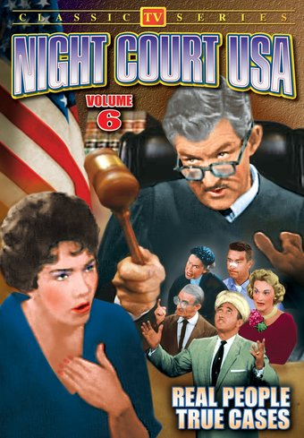 "Night Court USA, Volume 6 - 11"" x 17"" Poster"