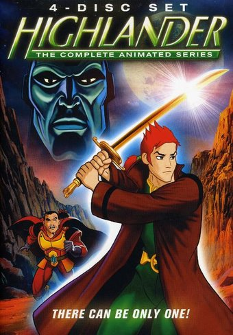 Highlander - Complete Animated Series (4-DVD)