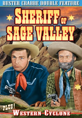 Buster Crabbe Double Feature: Sheriff of Sage