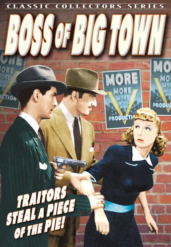 "Boss of Big Town - 11"" x 17"" Poster"