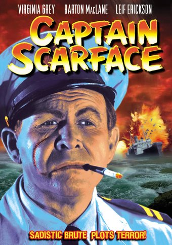 "Captain Scarface - 11"" x 17"" Poster"