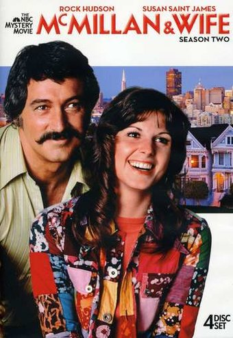 McMillan & Wife - Season 2 (4-DVD)