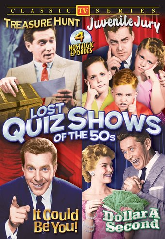 Lost Quiz Shows of The 50s (Treasure Hunt /