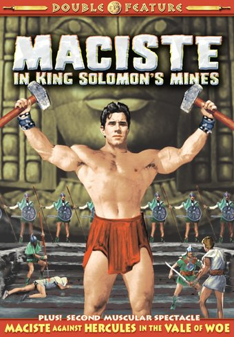Maciste Double Feature: Maciste In King Solomon's