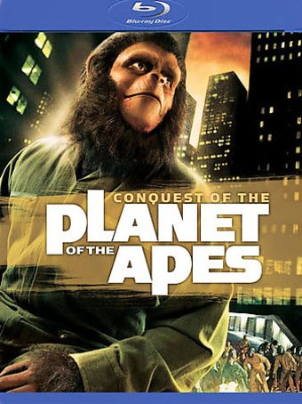 Conquest of the Planet of the Apes (Blu-ray,