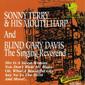 Sonny Terry & His Mouth Harp And Blind Gary Davis