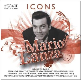 Icons: Mario Lanza (4-CD Box Set)