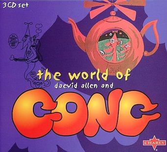 World of Daevid Allen and Gong (3-CD)