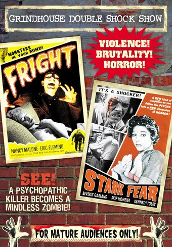Grindhouse Double Shock Show: Fright (1956) /