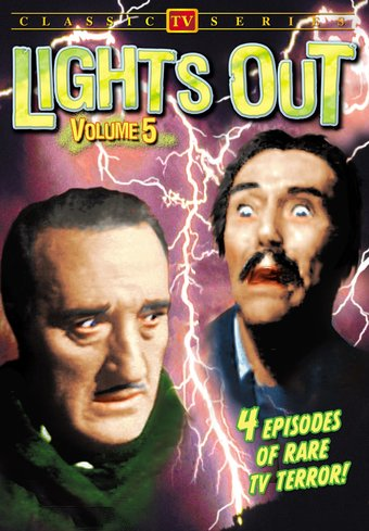 "Lights Out, Volume 5 - 11"" x 17"" Poster"