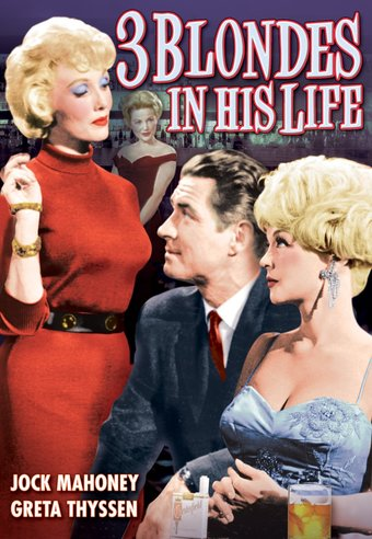 "3 Blondes In His Life - 11"" x 17"" Poster"