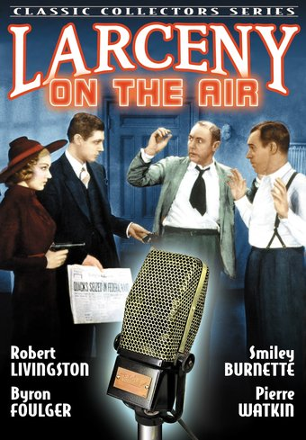 "Larceny On The Air - 11"" x 17"" Poster"