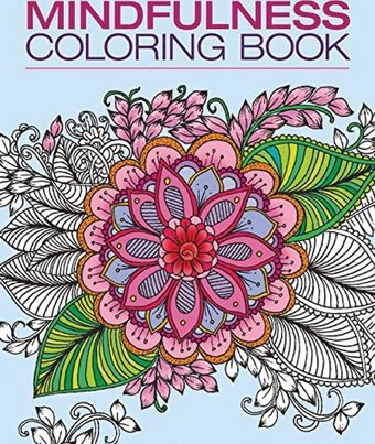 Mindfulness adult coloring book hachette for Garden 50 designs to help you de stress colouring for mindfulness