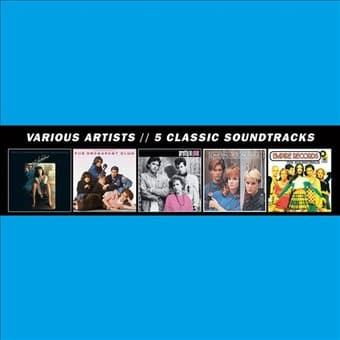 5 Classic Soundtracks (5-CD)