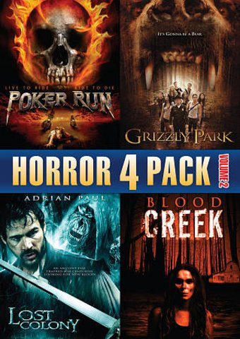 Horror 4 Pack, Volume 2: Poker Run / Grizzly Park