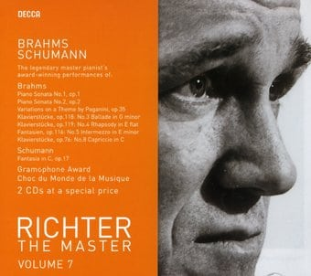 Sviatoslav Richter: The Master Volume 7, Brahms &