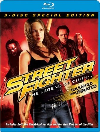 Street Fighter: The Legend of Chun-Li (Blu-ray,