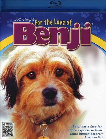 For the Love of Benji (Blu-ray)