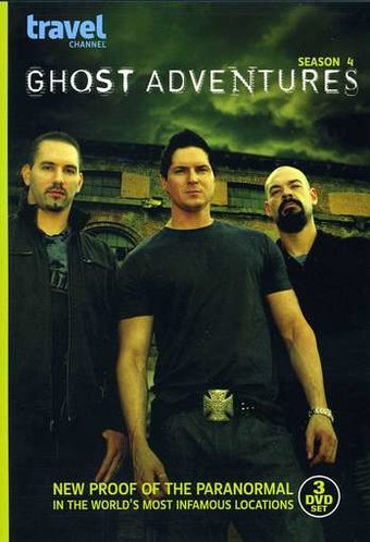 Ghost Adventures - Season 4 (3-DVD)