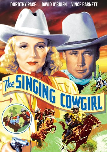 "The Singing Cowgirl - 11"" x 17"" Poster"