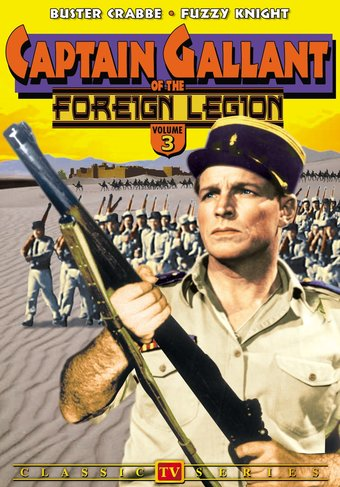 Captain Gallant of the Foreign Legion, Volume 3 -