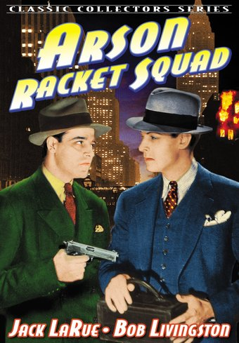 "Arson Racket Squad - 11"" x 17"" Poster"