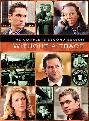 Without A Trace - Complete 2nd Season (6-DVD)