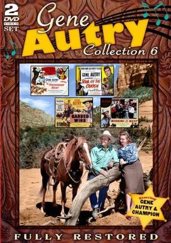 Gene Autry Collection 6 (Strawberry Roan / Rim of