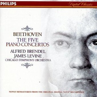 Beethoven: Five Piano Concertos (3-CD)