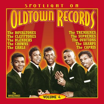 Spotlight On Old Town Records, Volume 4