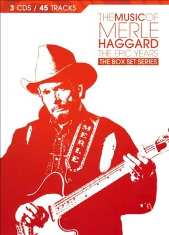 The Music of Merle Haggard: The Epic Years (3-CD