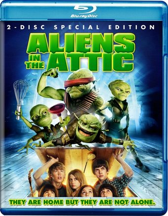 Aliens in the Attic (Blu-ray)
