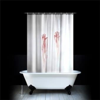 Blood Bath - Shower Curtain