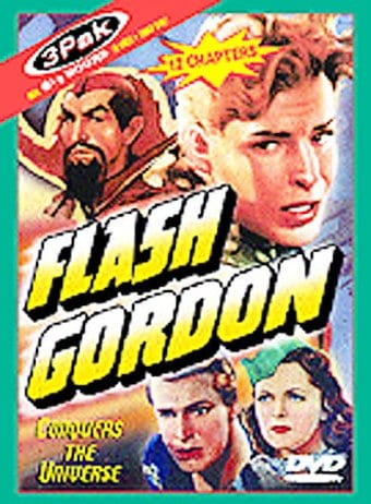 Flash Gordon Conquers the Universe (3-DVD)