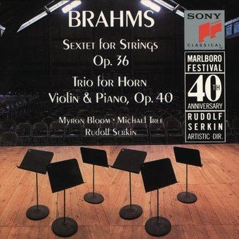 Brahms: Sextet, Op. 36 / Trio for Horn, Violin &