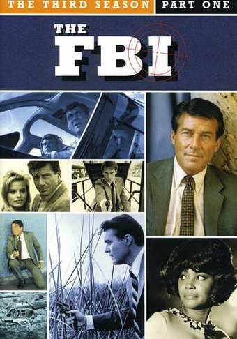 The FBI - 3rd Season, Part 1 (4-Disc)