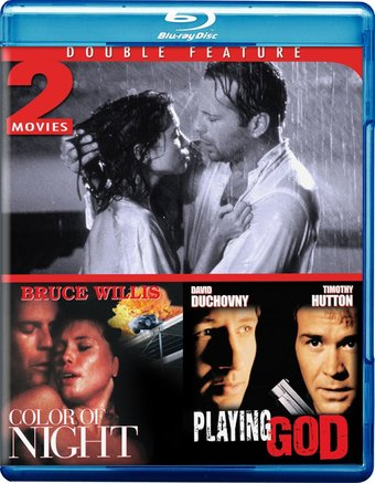 Color of Night / Playing God (Blu-ray)