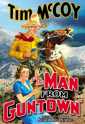 "The Man From Guntown - 11"" x 17"" Poster"