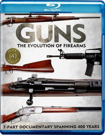 Guns: The Evolution of Firearms (Blu-ray)