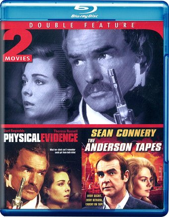Physical Evidence / The Anderson Tapes (Blu-ray)