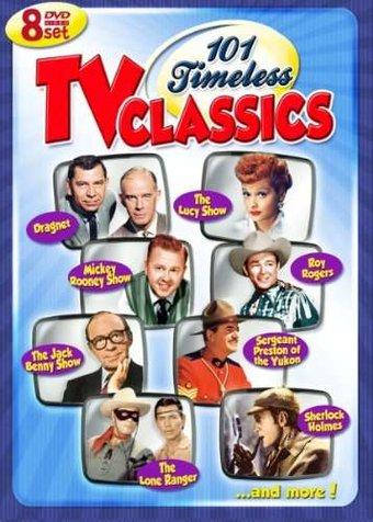 101 Timeless Tv Classics 8 Dvd 2010 Television On