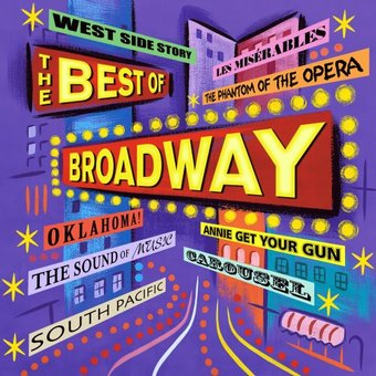 The Best Of Broadway Angel Cd 2002 Angel Records border=