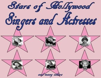 Stars of Hollywood: Singers and Actresses (3-CD)