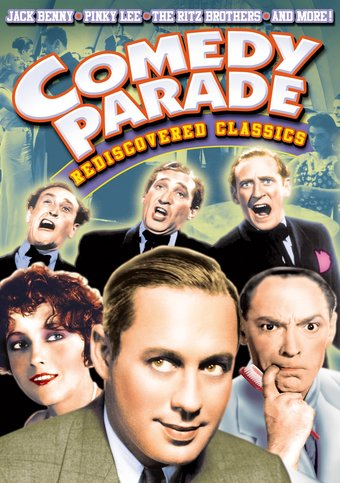 "Comedy Parade - Rediscovered Classic - 11"" x 17"""
