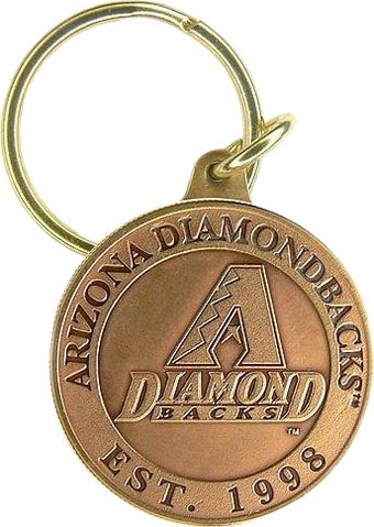 Baseball - Arizona Diamondbacks - Bronze Key Chain