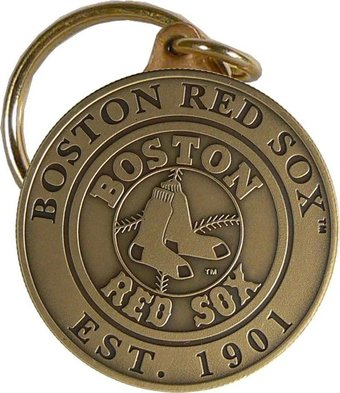 Baseball - Boston Red Sox - Bronze Key Chain