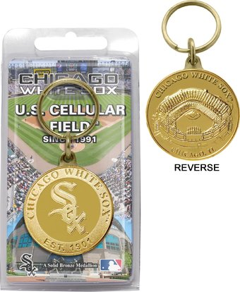 Chicago White Sox - Bronze Key Chain