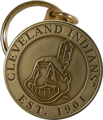Baseball - Cleveland Indians - Bronze Key Chain